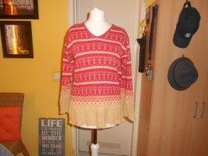 Oilily- roter Pullover Gr. XS