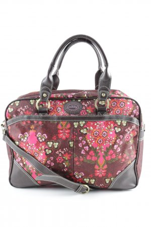 Oilily Satchel floral pattern casual look