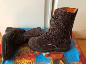 Oilily Lace-up Boots brown