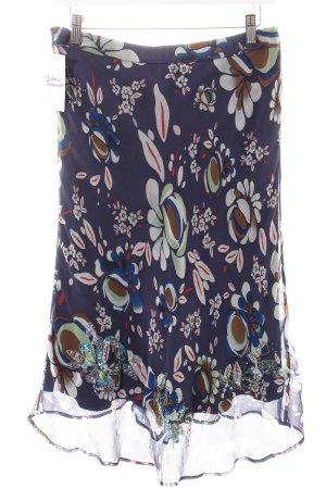 Oilily Seidenrock florales Muster extravaganter Stil