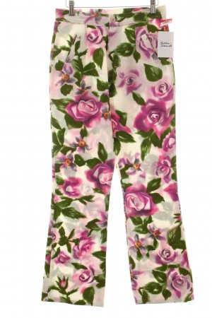 Oilily Stoffhose florales Muster extravaganter Stil