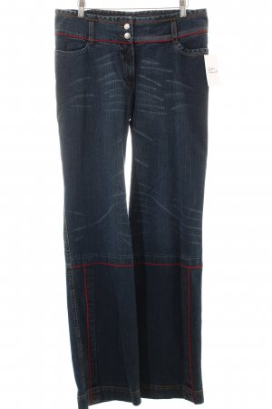 Oilily Straight-Leg Jeans blau Casual-Look