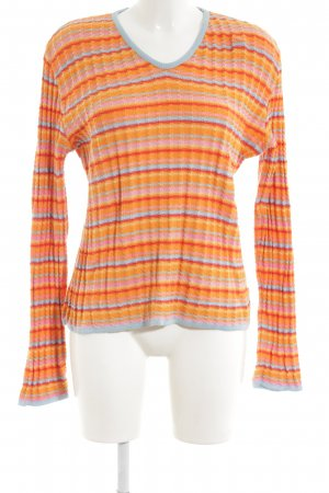 Oilily Strickpullover Streifenmuster Casual-Look