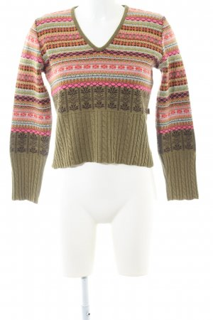 Oilily Strickpullover abstraktes Muster Casual-Look