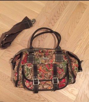 Oilily Tasche herbstlich braun/rot/grün