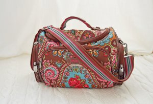 Oilily Travel Beautycase in braun-bunt