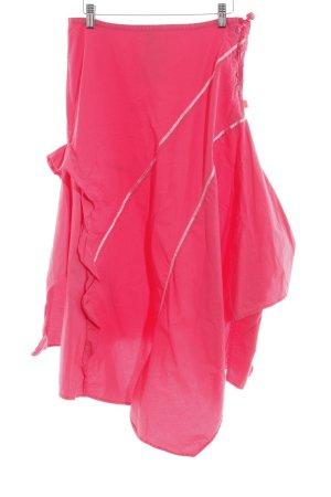 Oilily Jupe à volants rose style décontracté