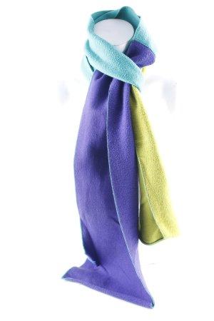 Oilily Bufanda de lana bloques de color look casual