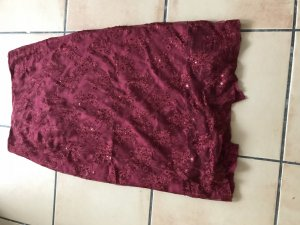 Oilily Lace Skirt bordeaux silk
