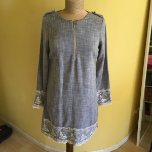 Sheath Dress grey linen