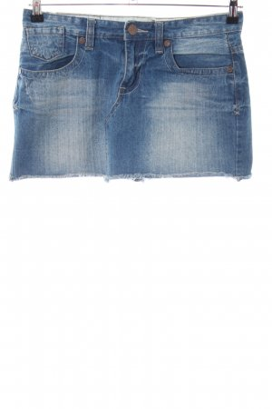 okay Jeansrock blau Casual-Look