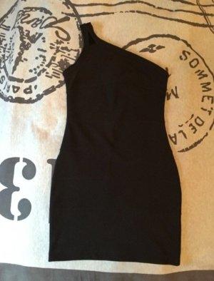 Okay Kleid asymetrisch schwarz