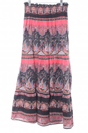 okay Maxi Skirt abstract pattern Boho look