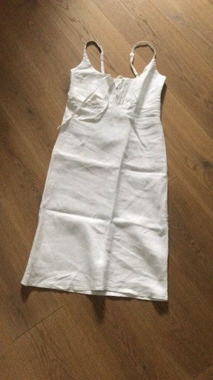 OKHA (Sunday in bed) Leinen Nachthemd/ Kleid weiß