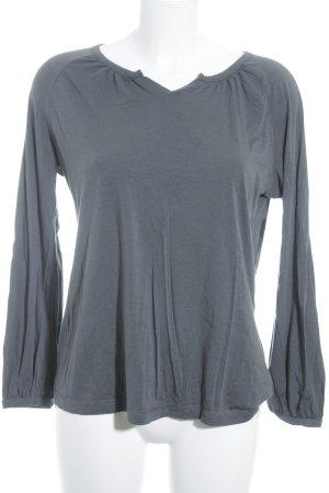 Okha Suéter gris estilo deportivo
