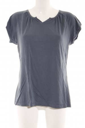 Okha T-Shirt graublau Casual-Look