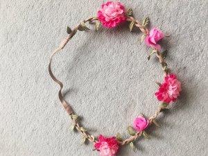 Angermaier Cinta para el pelo rosa