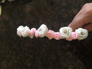 Hair Accessory white-light pink