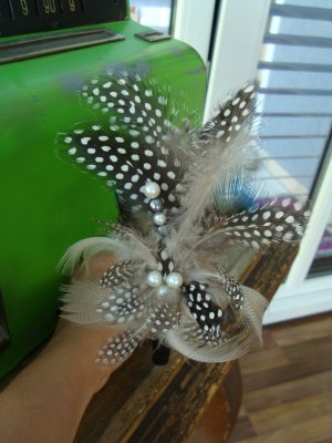 Headdress dark green