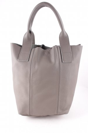 OKWD Beuteltasche taupe-grau Casual-Look