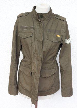 Old Navy Jacke Parka Military Militär Army Jacket Olivgrün Grün