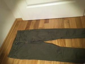 Oliv Grüne skinny Jeans
