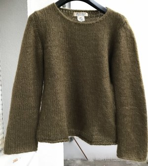Olive green Mohair Pulli