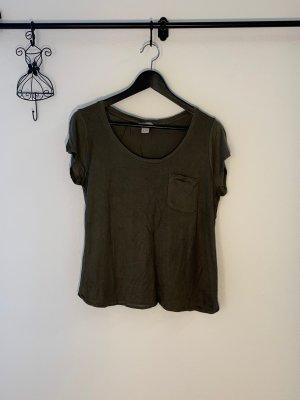 Olivegrünes Tshirt H&M