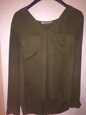 Long Blouse olive green