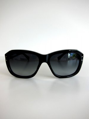 Square Glasses black synthetic material