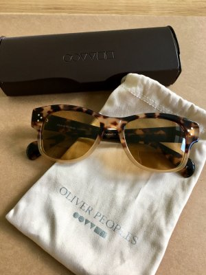 Oliver Peoples Oval Sunglasses multicolored