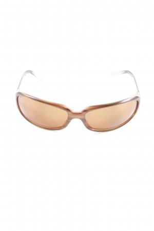 Oliver Peoples Karée Brille Farbverlauf Logo-Applikation aus Metall
