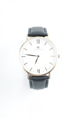 Olivercph Analog Watch black-rose-gold-coloured elegant