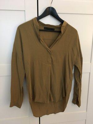 Olivfarbene Bluse Größe XS