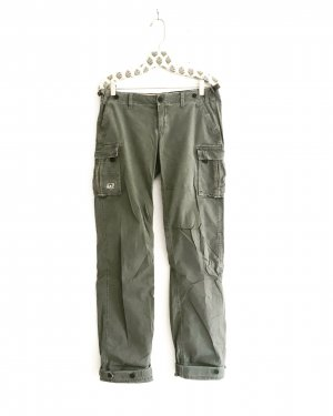 Abercrombie & Fitch Pantalón de color caqui multicolor