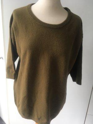 Olivfarbener Pullover von Closed, neu