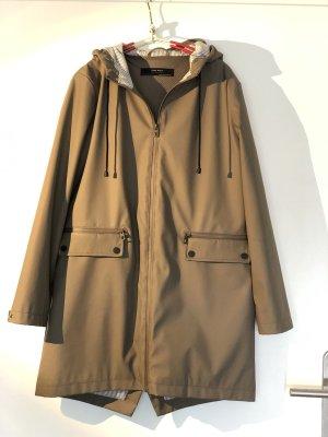 Zara Basic Heavy Raincoat multicolored polyester