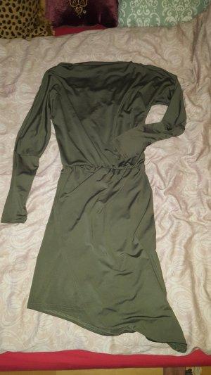 Olivfarbenes Kleid