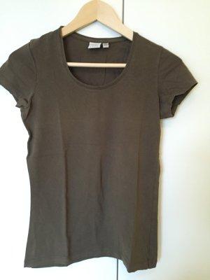 olivfarbenes T-Shirt von EDC zu verkaufen