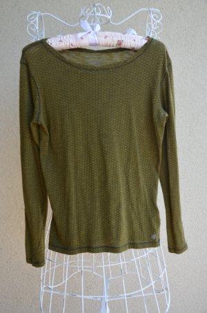 olivfarbiger, leichter Pullover