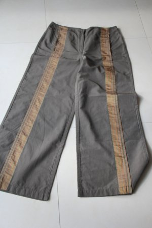 Sylvia Heise Marlene Trousers dark orange-olive green mixture fibre