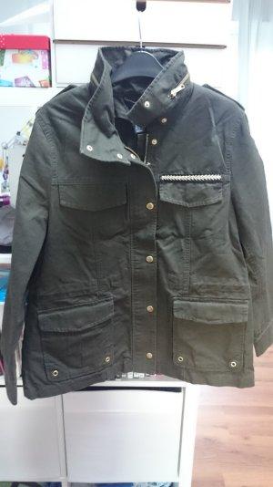 Olivgrüne Military Jacke