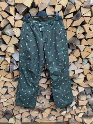 ONEILL Pantalone da neve verde oliva-grigio-verde Poliestere