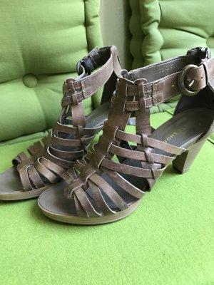 Olivgrüne Sommer Sandalen von Görtz, Größe 38