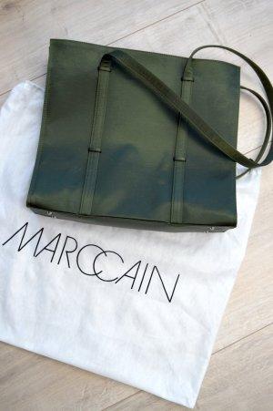 Olivgrüner Shopper von Marc Cain