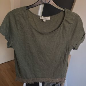 Olivgrünes T-Shirt
