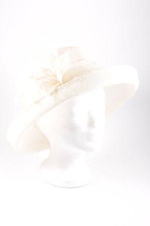 Olivier Maugé Couture Hut creme 20ies-Stil