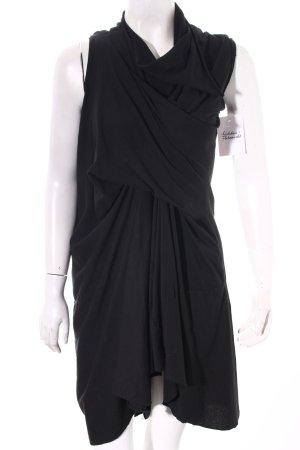 Olmar & Mirta Stretchkleid schwarz extravaganter Stil