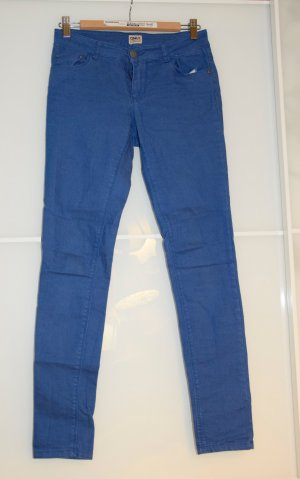 Olnly Jeans, Skinny, Knallblau, Größe s / Länge 32