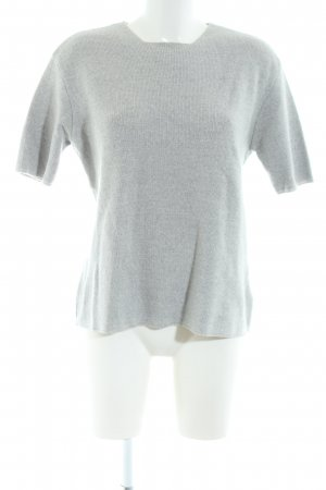 Olsen Collection Knitted Twin Set light grey flecked casual look
